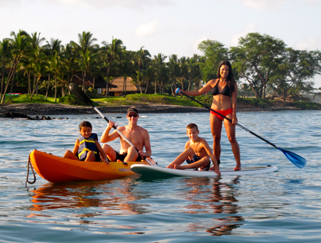 Kayak and Stand Up Paddling Maui
